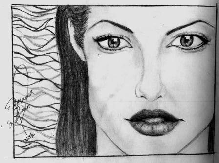 Angelina Jolie por Ciela